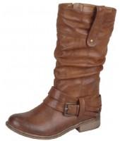Eagle Rieker Brown Fleece Lined Boot 95672-00
