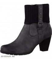Gypsy Marco Tozzi Grey Combination Antic Nappa Boot 2-25331-25