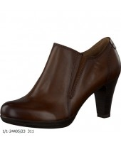 Kass Tamaris Brown Leather Ankle Boot Shoe 1/1-24405-23