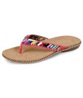 Ella Lunar Pink Toe Post Sandal JLH621