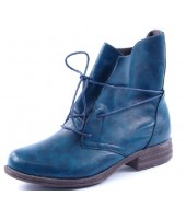 Pippa 2 Heavenly Feet Blue Casual Ankle Boot